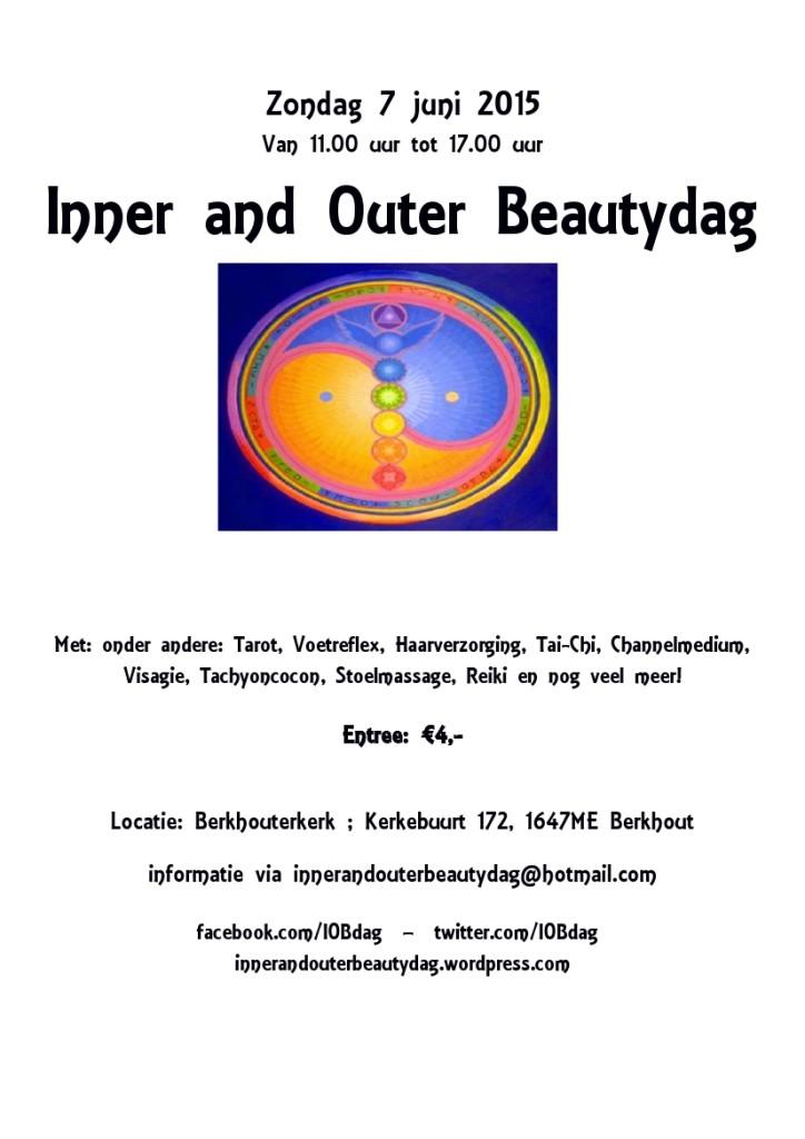 Poster en flyer IOBdag 2015-06-07